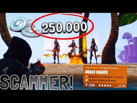 I SCAMMED MY FRIENDS RICHEST ACCOUNT! FORTNITE SAVE THE WORLD PVE *PRANK*