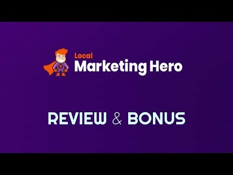 Local Marketing Hero Review Bonus - How Anyone Can Land A $500 Month Client