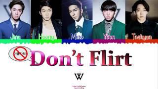 ?? WINNER (위너) - Don't Flirt [Color Coded Lyrics Han|Rom|Esp…