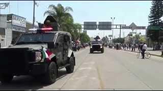 Desfile Cívico Militar Conmemorativo al Centenario de Las Batallas de Celaya