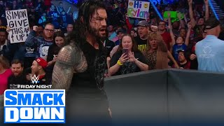 Roman Reigns obliterates Robert Roode after he mentions Roman's kids | FRIDAY NIGHT SMACKDOWN