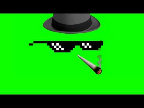 deal with it thug life animationgreenscreen youtube