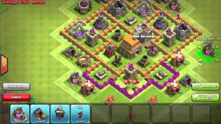 Th6 UNBEATABLE BASE!!! ANTI GIANT/HEALER/BALLOON!!! TWO REPLAYS!! NO STARS!!