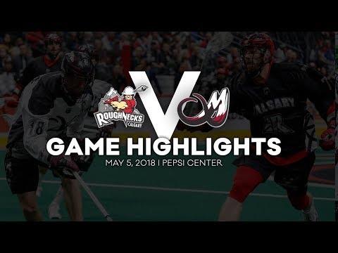 GAME HIGHLIGHTS: Calgary Roughnecks @ Colorado Mammoth - West Division Semi-Final