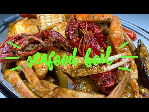 HOW TO MAKE A SEAFOOD BOIL 🦞