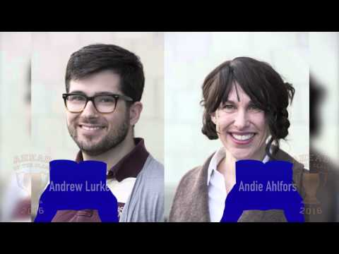 AOC 2016 WINNER!!! Andrew Lurker and Andie Ahlfors