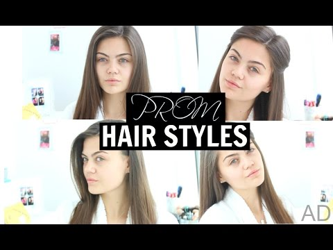 Prom | Simple Straight Hair Styles | 2015!