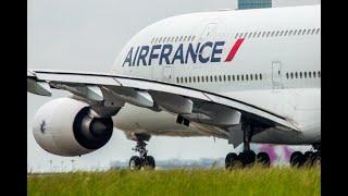 Último Despegue y Aterrizaje del Superjumbo A380 de Air France