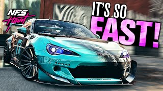 Need for Speed HEAT - The BRZ IS SO FAST! (Subaru BRZ Customization)