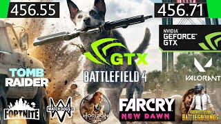 Nvidia Drivers 456.55 Vs 456.71 60 FPS Test In 11 Games
