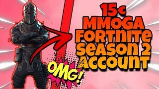 SEASON 2 OG RITTER SKINS IN MMOGA RANDOM FORTNITE ACCOUNT! (+raffle)