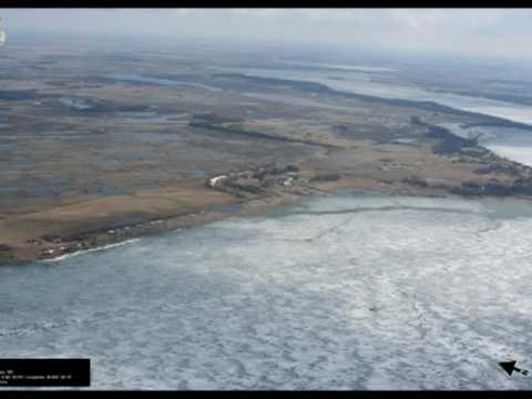 Aerial Photos of the Devils Lake North Dakota Basin