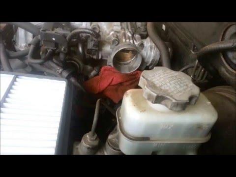 throttle body cleaning 2004 hyundai santa fe 3 5l