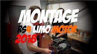 Montage des 1200PS Motor für Philipps Limo Saison 2018