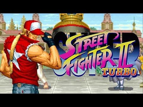 Terry vs Super Street Fighter II Turbo
