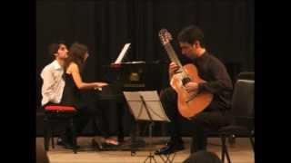 Fabio de Oliveira plays Guitar Concerto Op. 88 (Berkeley) - I. Andantino - Allegretto