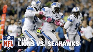 Lions Recover Russell Wilson Fumble for a Game-Changing TD | Lions vs. Seahawks | NFL
