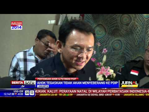 Ahok: Tugas dari Prabowo Benahi Jakarta, Tak Ada Cawapres