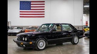 1988 BMW M5 Test Drive