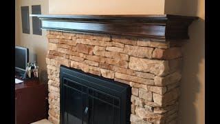 Build A Fireplace Mantel