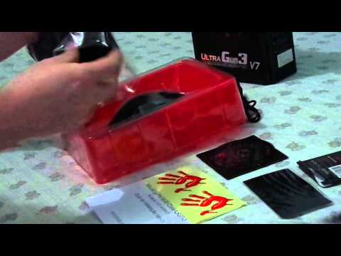 UNBOXING MOUSE A4TECH-BLOODY ULTRA GUN 3 V7