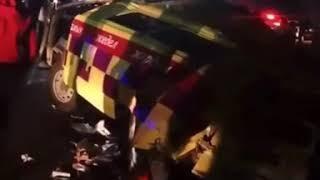 Страшная авария произошла в Алматинской области на трассе Алматы–Кокпек–Коктал