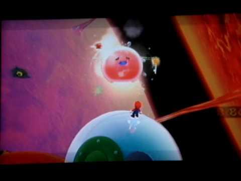 Super Mario Galaxy Walkthrough: Melty Molten Galaxy Secret Star - Burning Tide