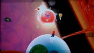 Super Mario Galaxy Walkthrough: Melty Molten Galaxy Secret Star - Burning Tide