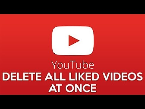how to delete liked videos