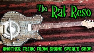 The Rat Reso: Electric Resonator Guitar Project by Shane Speal