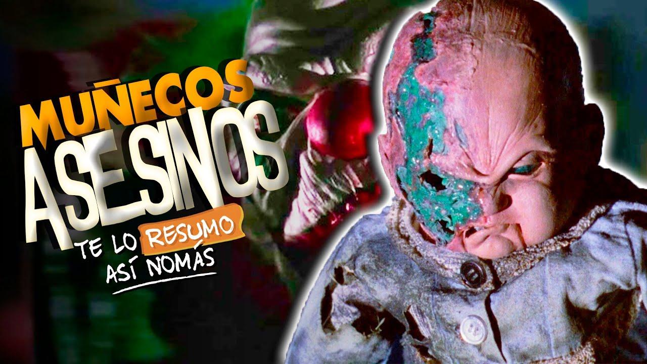 Las 9 Peores Peliculas De Muñecos Poseidos | #TeLoResumo