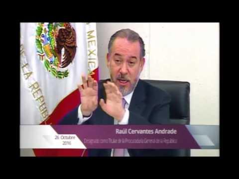 """Solución a """"grandes casos pendientes"""", como Ayotzinapa y Tlatlaya, promete Raúl Cervantes (Video)"""