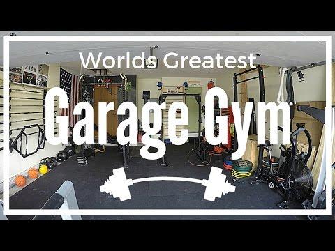 Worlds greatest garage gym tour youtube