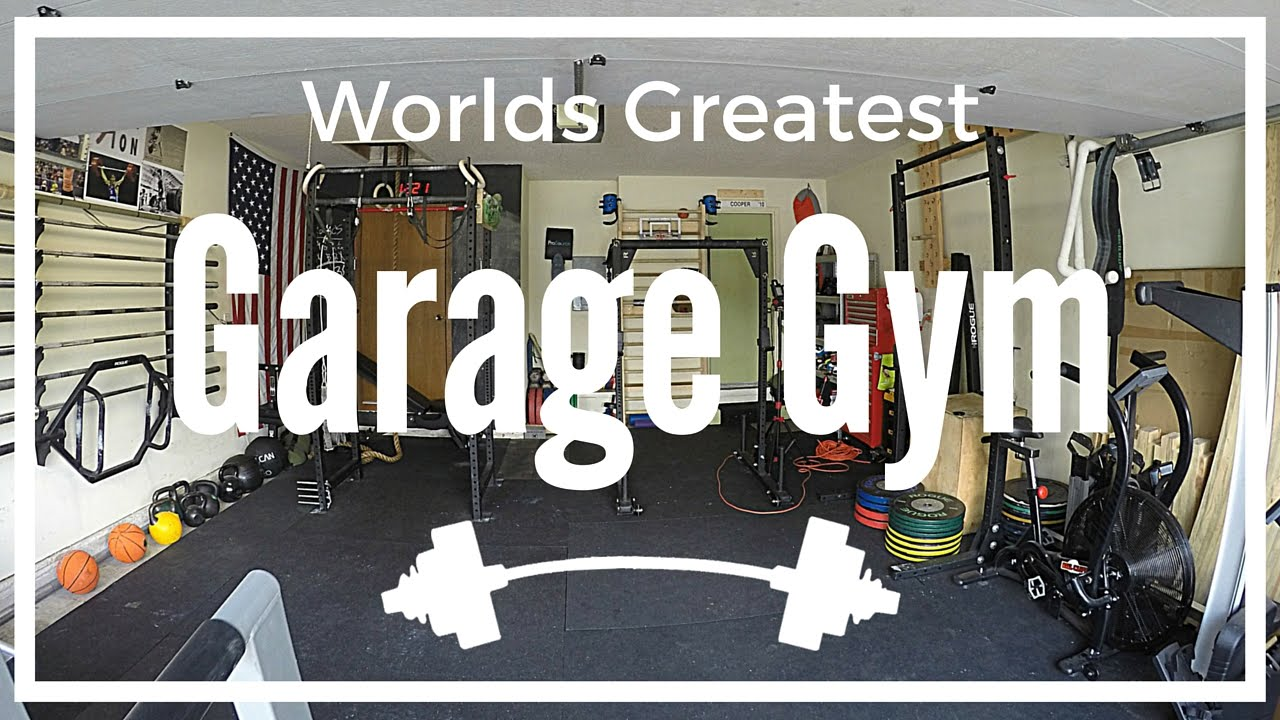 Worlds greatest garage gym tour youtube