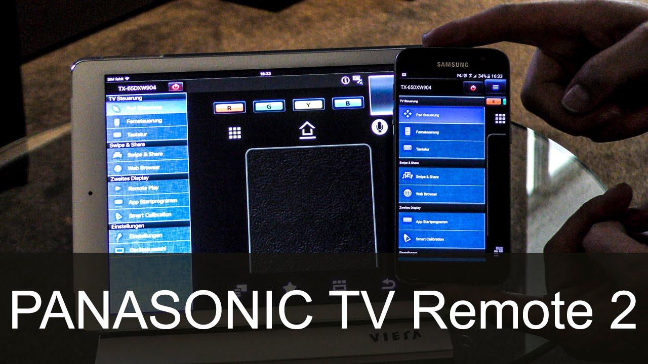 Panasonic TV Remote App 2 - Video-Erklärung - Thomas-Electronic-Online-Shop