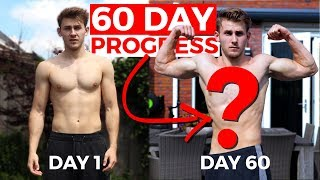 He stopped working out for a year, this is his 60 day progress | Results Before & After