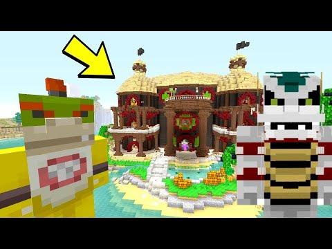 EVIL FUN HOUSE!? *GIGA BOWSER!* | Nintendo Fun House | Minecraft Switch [294]