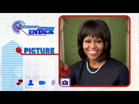 Michelle Obama Tweets About New Portrait: World News Instant Index