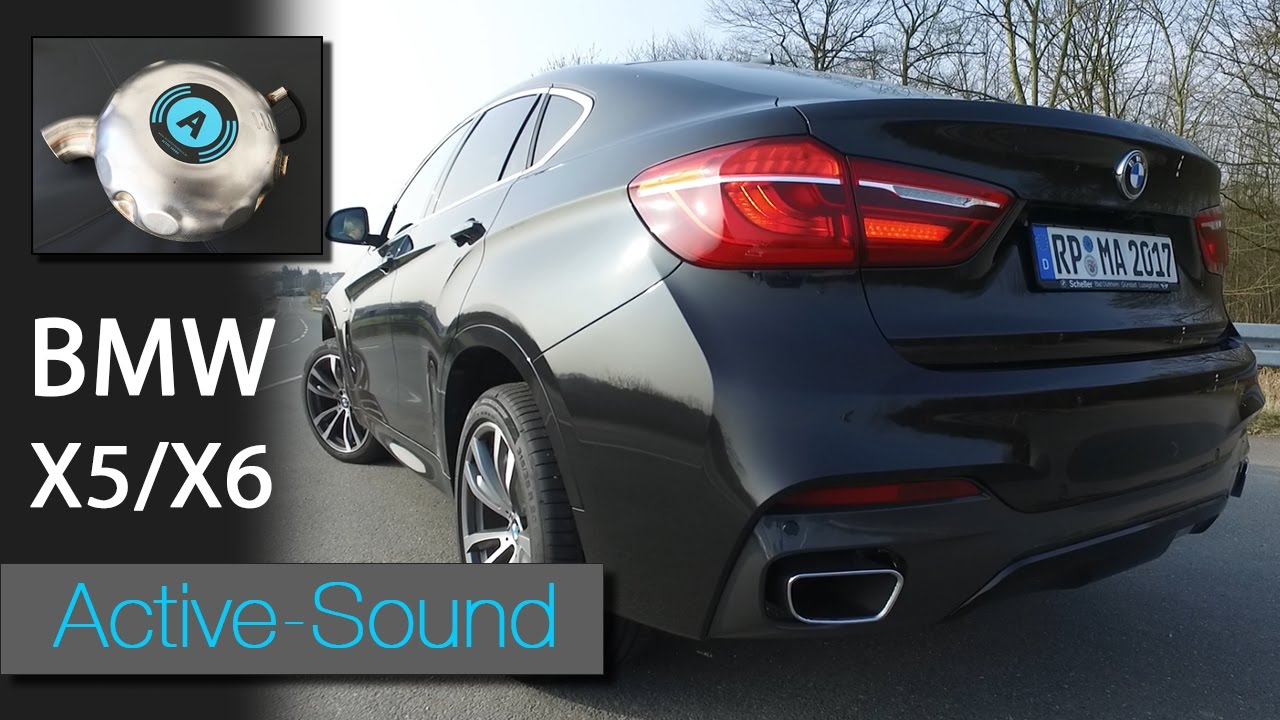 Active Sound Am Bmw X6 Xdrive 30d Diesel Youtube