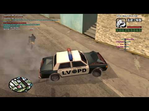 GTA San Andreas Multy player  Policia 2 Hliadka Na Prazdno