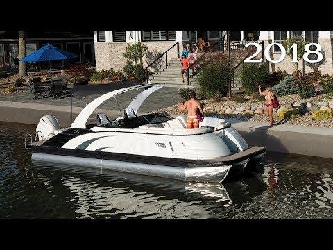 Bennington 2018 Q & QX Series Pontoon Boats - YouTube