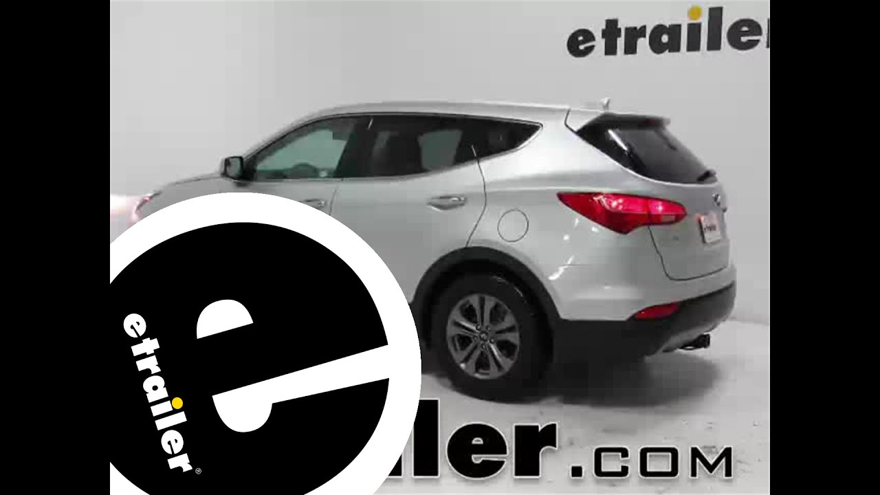 maxresdefault trailer hitch installation on a 2015 hyundai santa fe etrailer  at bayanpartner.co