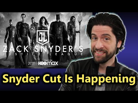 The SNYDER CUT of Justice League is Officially Happening!