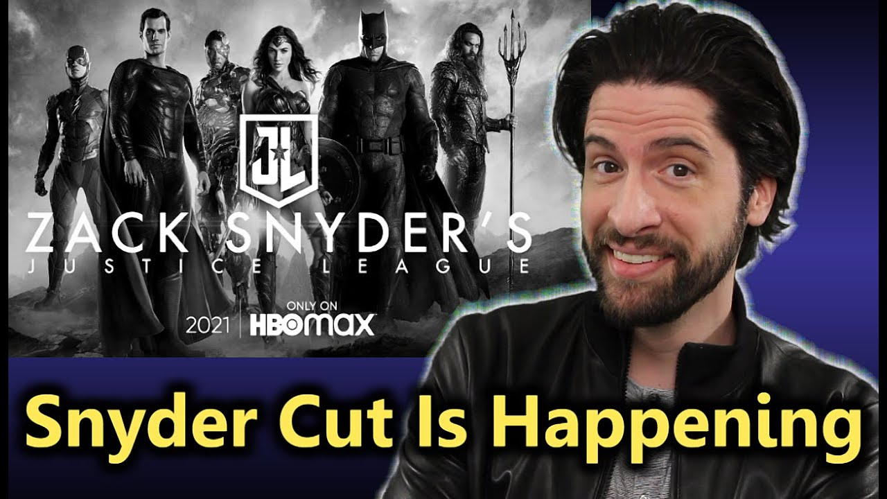 The Snyder Cut Is Happening  Everything You Need To Know ...