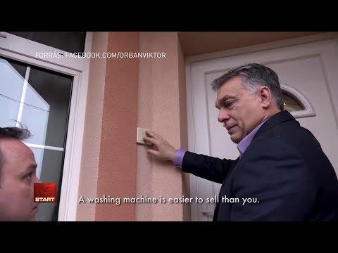 """""""Egy mosógépet könnyebb eladni, mint téged"""" - Orbán és Nyitrai együtt kampányolt Egerben"""