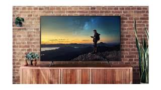 Newest Samsung 55NU7100 55  4K UHD Flat Smart LED TV 2018 Overview