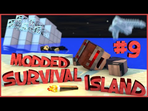 Survival Island Modded - Minecraft: Someone's Here? (STORY) Part 9