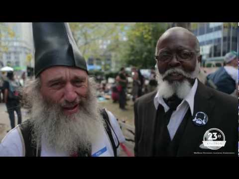 Jimmy McMillan & Vermin Supreme Talk future of their ticket at OWS 1 year celebration #S17