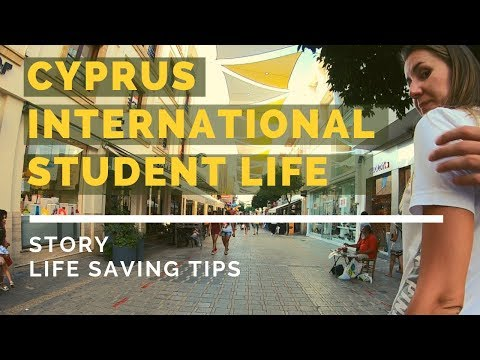 CYPRUS international student life   VLOG