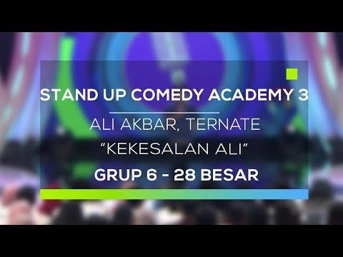 Stand Up Comedy Academy 3 : Ali Akbar, Ternate - Kekesalan Ali